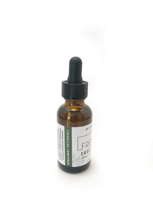 Bergamot Patchouli Free Beard Oil