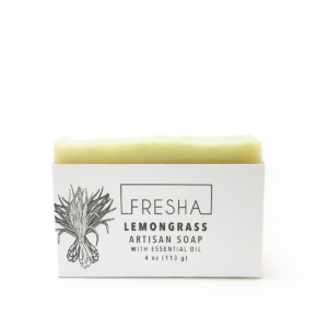 Essential Lemongrass Vegan Soap