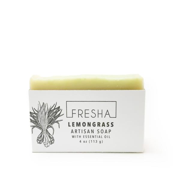 Essential Lemongrass Vegan Soap