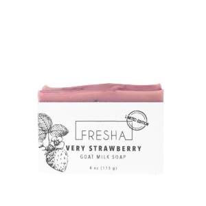 Very Strawberry Goat Milk Soap