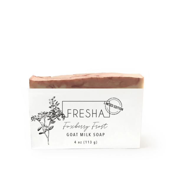 Foxberry Frost Goat Milk Soap