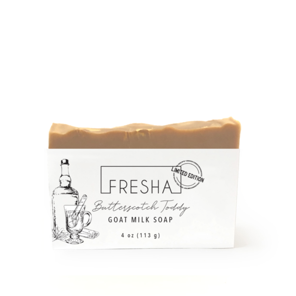 Butterscotch Toddy Goat Milk Soap